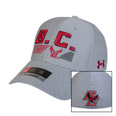 Under Armour Steel Heather Fitted Hat-