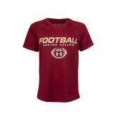 Youth Under Armour Cardinal Football TShirt-