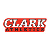 Medium Decal-Clark Athletics, 8 in. wide