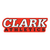 Large Decal-Clark Athletics, 12 in. wide
