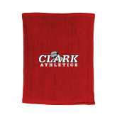 Red Rally Towel-Primary Logo
