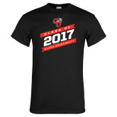 Black T Shirt-Class Of - Slanted Banners, Personalized Year