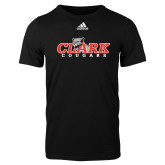 Adidas Black Logo T Shirt-Secondary Logo