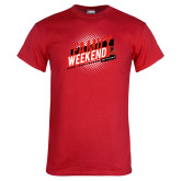 Red T Shirt-CU Family Weekend