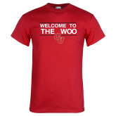 Red T Shirt-Welcome to the Woo
