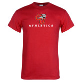 Red T Shirt-CU Athletics Logo