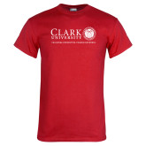 Red T Shirt-Institutional Logo Flat