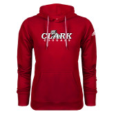 Adidas Climawarm Red Team Issue Hoodie-Secondary Logo
