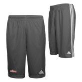 Adidas Climalite Charcoal Practice Short-Secondary Logo