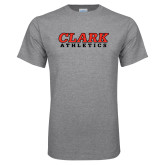 Grey T Shirt-Clark Athletics