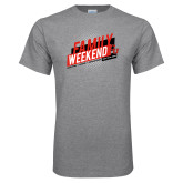 Grey T Shirt-CU Family Weekend