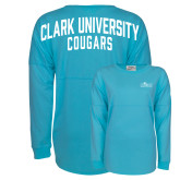 Turquoise Game Day Jersey Tee-Primary Logo