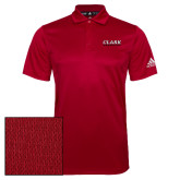Adidas Climalite Red Grind Polo-Clark Athletics