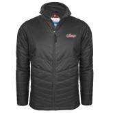 Columbia Mighty LITE Charcoal Jacket-Secondary Logo