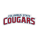 Medium Decal-Arched Columbus State Cougars