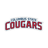 Small Decal-Arched Columbus State Cougars