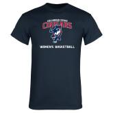 Navy T Shirt-Womens Basketball