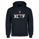 Navy Fleece Hoodie-XCTF