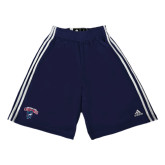 Adidas Climalite Navy Practice Short-Columbus State Cougars w/ Cougar Arched