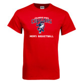 Red T Shirt-Mens Basketball