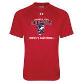 Under Armour Red Tech Tee-Womens Basketball
