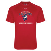 Under Armour Red Tech Tee-Womans Soccer