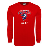 Red Long Sleeve T Shirt-XCTF
