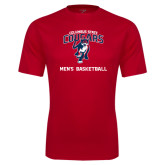 Syntrel Performance Red Tee-Mens Basketball