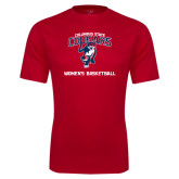 Performance Red Tee-Womens Basketball