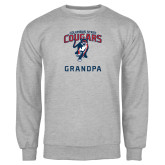 Grey Fleece Crew-Grandpa