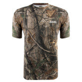 Realtree Camo T Shirt-Arched Columbus State Cougars
