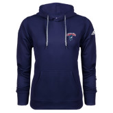 Adidas Climawarm Navy Team Issue Hoodie-Columbus State Cougars w/ Cougar Arched