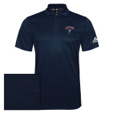 Adidas Climalite Navy Game Time Polo-Columbus State Cougars w/ Cougar Arched