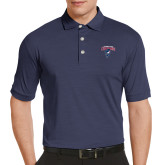 Callaway Tonal Navy Polo-Columbus State Cougars w/ Cougar Arched