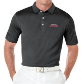 Callaway Black Jacquard Polo-Arched Columbus State Cougars