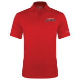 Columbia Red Omni Wick Round One Polo-Arched Columbus State Cougars