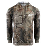Realtree Camo Fleece Hoodie-Arched Columbus State Cougars