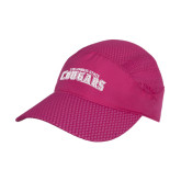 Pink Pace Setter Cap-Arched Columbus State Cougars