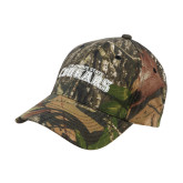 Mossy Oak Camo Structured Cap-Arched Columbus State Cougars