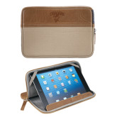 Field & Co. Brown 7 inch Tablet Sleeve-Columbus State Cougars w/ Cougar Arched Engraved
