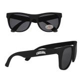 Black Sunglasses-Arched Columbus State Cougars