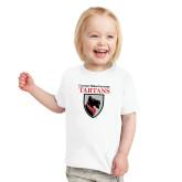 Toddler White T Shirt-Mascot