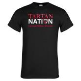 Black T Shirt-Tartan Nation