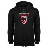 Black Fleece Full Zip Hoodie-Mascot