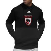 Adidas Black Team Issue Hoodie-Mascot