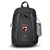 Impulse Black Backpack-Mascot