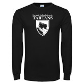Black Long Sleeve T Shirt-Mascot One Color