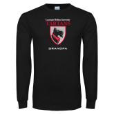 Black Long Sleeve T Shirt-Grandpa