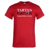 Red T Shirt-Tartan Nation