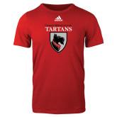 Adidas Red Logo T Shirt-Mascot